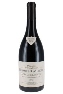 "Domaine Paul Misset Chambolle Musigny ""Condemenes"" 2012"