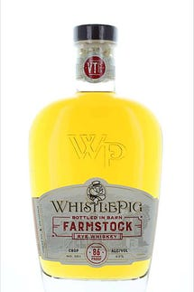 "Whistle Pig Farm ""Farmstock"" Rye 86 pf. (Vermont)"